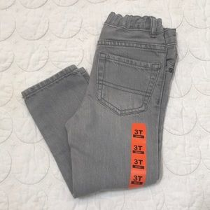 {The Children's Place} Boys Skinny Jeans Gray 3T